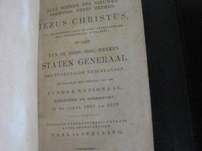 Het nieuwe testament. Uitgave 1881.